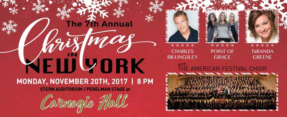 Christmas in New York with TaRanda, Point of Grace and Charles Billingsley