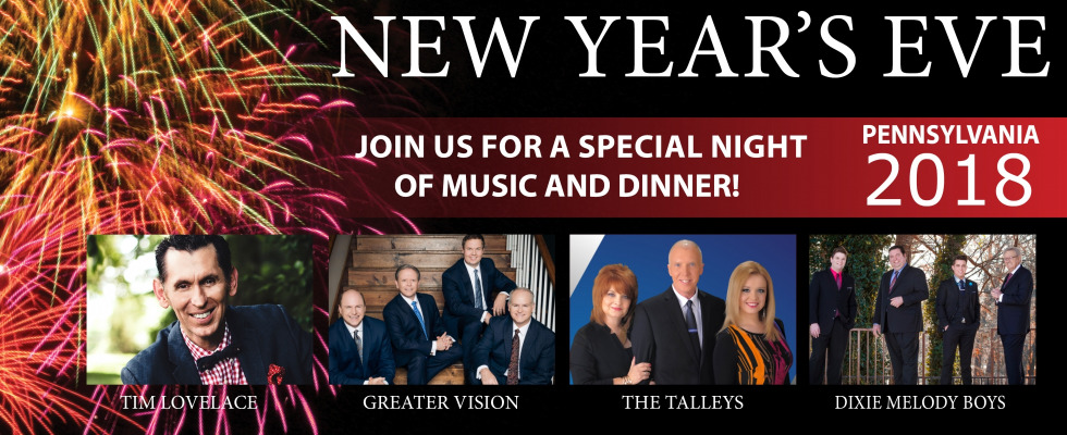 New Year's Eve Spectacular at Shady Maple Banquet Hall