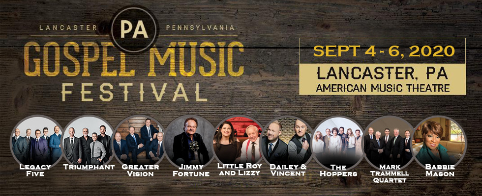 Pennsylvania Gospel Music Festival 2020