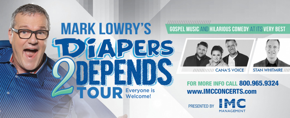 Diapers 2 Depends with Mark Lowry